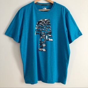 The North Face Men's T Shirt with Graphic Design